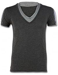Eleven Paris Herren T-Shirt grau dunkelgrau