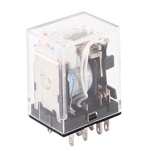 hh54pl AC 110V/120V Coil 14Pins 4PDT Red LED Light Power Relay (120v Coil)