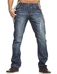 Stitch & Soul by 98-86 5-Pocket Jeans mit abnehmbaren Hosenträgern