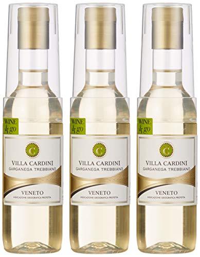 Villa Cardini Garganega Wine & Go in PET Flasche mit Becher (12 x 0.187 l) -