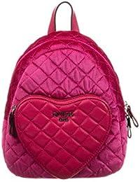 Guess Rucksack aus fuchsiafarbenem Samt (30 cm) Mädchen