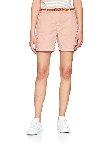 VERO MODA Damen Vmflame NW Chino Shorts Noos, Rosa (Misty Rose Misty Rose), 34 (Herstellergröße: XS)