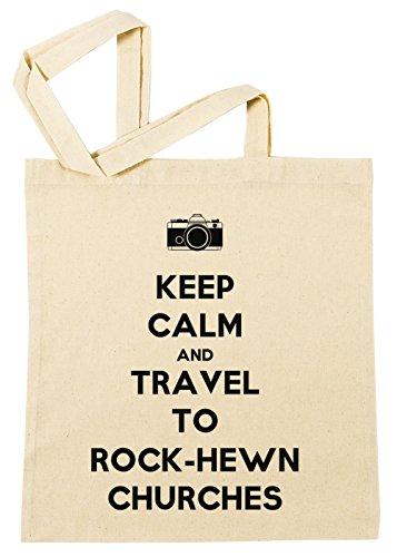 keep-calm-and-travel-to-rock-hewn-churches-borsa-della-spesa-spiaggia-cotton-riutilizzabile-shopping