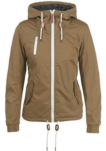 Desires Tilda Damen Übergangsjacke Jacke Mit Kapuze, Größe:XXL, Farbe:Ermine (5944)