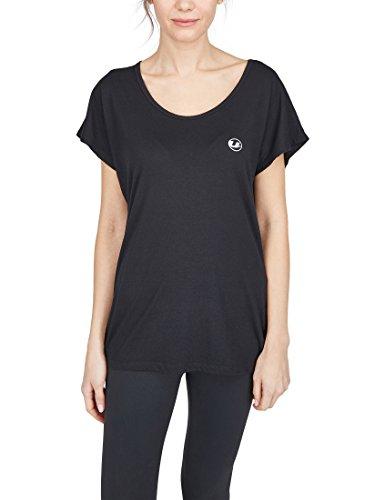 Ultrasport Damen Balance Yoga-Fitness-Shirt Schwarz M