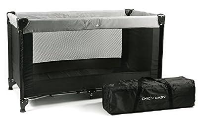 CHIC 4Baby 34590Cuna de viaje Basic, color negro