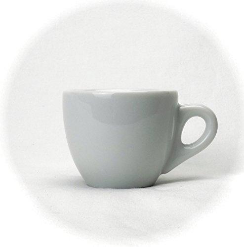 Extra dickwandige italienische Espressotasse »Verona« (0,85 cm Tassenwand / 75 ml), handgemacht (1 Tasse & Untertasse) / Made in Italy - 2