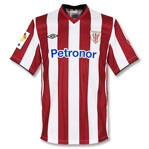Athletic Bilbao 2012/13 Home Football Shirt Red/White - size
