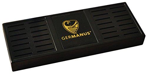 Germanus - Umidificatore Premium Humidor, misura XL, nero, incl. supporto magnetico e istruzioni (lingua italiana non garantita)