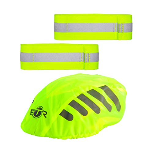 BTR fahrradhelm regenüberzug. Helm Cover. Wasserdichter helmüberzug,Reflexband