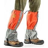 Generic Waterproof 210T Nylon Ultralight Trekking Skiing Foot Sleeve Snow Legging Gaiters-Parent