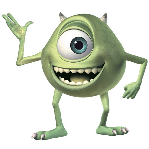 Disney RoomMates Giant Kinder Monsters Inc. Mike, -