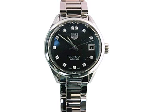 Tag Heuer donna Carrera Calibre 9 orologio automatico diamante quadrante diamante lunetta 28 mm WAR2413.BA0776