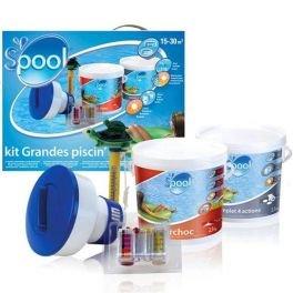 GRE - Kit de traitement pour piscine de 15 - 20m3 S'pool