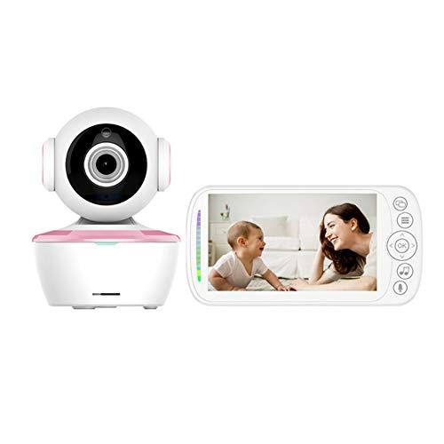 YSODFQL Monitor para Bebé con Cámara Monitor Inalámbrico para Bebé Digital con Pantalla LCD De 5