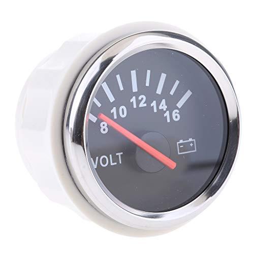 2' Voltmetro Analogico 9-32V Batteria Universale Auto Barca - N2