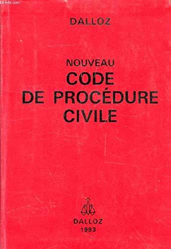 Nouveau code de procédure civile