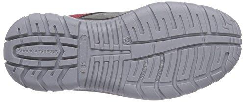 Maxguard Peter P320, Bottes de sécurité mixte adulte Multicolore (rot/grau)