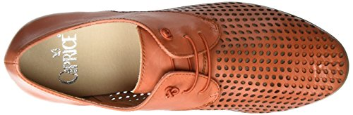 Caprice 23501, Scarpe Stringate Basse Oxford Donna Arancione (Orange Nappa)