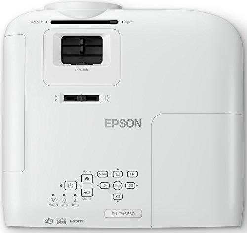 Epson EH-TW5650 3LCD-Projektor (Full HD, 2500 Lumen, 60.000:1 Kontrast, 3D) - 6