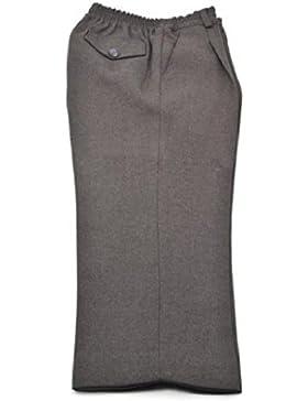 El Patio de Mi Cole - Pantalón Uniforme Escolar Gris Largo 100% Poliéster. Cintura totalmente elástica. Fabricado...