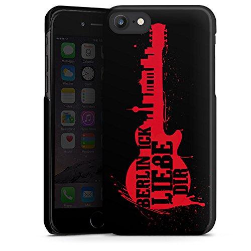 Apple iPhone X Silikon Hülle Case Schutzhülle Liebe Berlin Love Hard Case schwarz