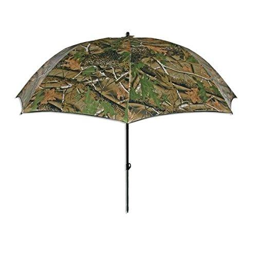 NGT Standard Realtree Umbrella Schirm, Grün Braun, XL