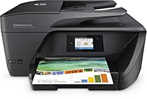 HP OfficeJet Pro 6960 Stampante Multifunzione, Stampa/Copia/Scansione/Fax, Wireless, Nero