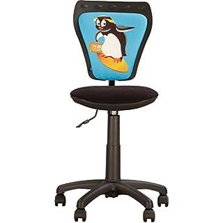 MINISTYLE- Kinder- und Jugenddrehstuhl, Schreibtischstuhl für Kinder, Bezugsstoff . (Alk)