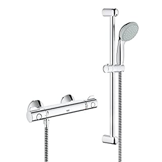 GROHE 34565000 | Grohtherm 800 Shower Thermostat Shower Set