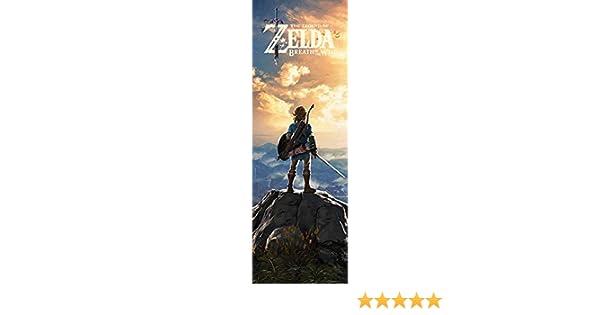 The Legend Of Zelda Breath Of The Wild Sunset Door Poster CPP20252  53cm X 158cm