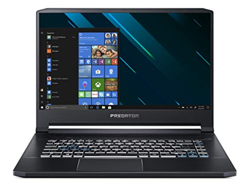 "Acer Predator Triton 500 PT515-51-737B Notebook Gaming con Processore Intel Core i7-8750H, Ram 16GB DDR4, 256GB+256GB SSD, Display 15.6"" FHD IPS 144Hz LCD, NVIDIA GeForce RTX 2070 8G, Windows 10 Home"