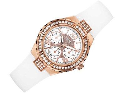 Guess Chronograph White Dial Women's Watch - W0300L2 image