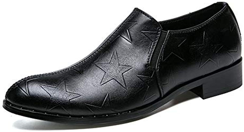 Xujw-scarpe, 2018 Scarpe Stringate Basse Men's Business Oxford Casual Classic Retro Fashion Stampe comode con un... | Materiali selezionati  | Scolaro/Ragazze Scarpa