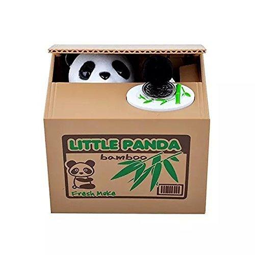 Preisvergleich Produktbild Kleiner Panda Money Bank-Einsparung-Kasten Panda-Geld-Kasten Stehlen Münze Panda (Panda)