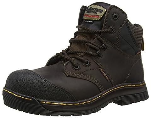 Dr. Martens Industrial Surge St Waterproof, Chaussures de Sécurité Homme, Marron-Marron, 42 EU