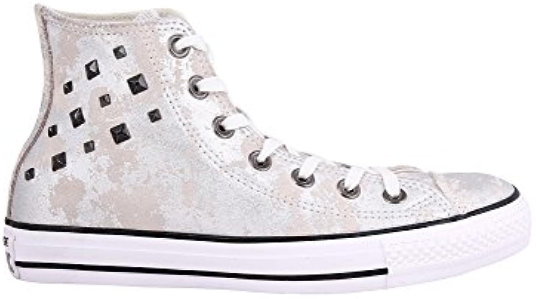 Converse Wouomo Chuck Taylor all Star Hardware argento scarpe da ginnastica 100% Leather | Di Qualità Dei Prodotti  | Uomini/Donne Scarpa