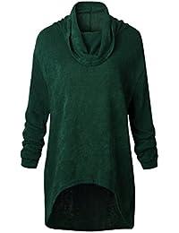 Maglione Lana Abbigliamento Verde it Donna Amazon FHBpqzxgng