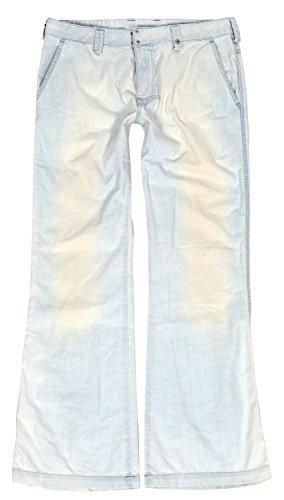 Diesel Damen Jeans, Hüftjeans, mid Waist, Bootcut, Hose C-Pilli 0011AA, Größe:W34