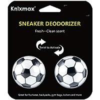 Knixmax Bolas Desodorizantes de Zapatos, Ambientador Se Puede Utilizar para La Desodorización De Diversos Calzados, Bolsas de Gimnasio, Taquillas, 1 Pares