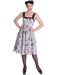 Vestido Punk de estilo Rockabilly de los 50's Hell Bunny Zoey
