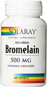 SOLARAY - 60CAP SOLARAY bromélaïne