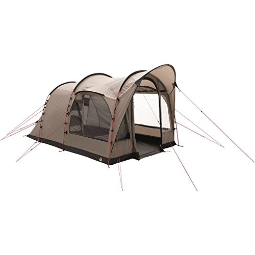 Preisvergleich Produktbild ROBENS Cabin 400 Grey Tunnel Tent Camping Zelt (4 Person (S),  4.41 M²,  5 m,  5 m,  Fixed Ground Cloth,  Tunnel Tent)