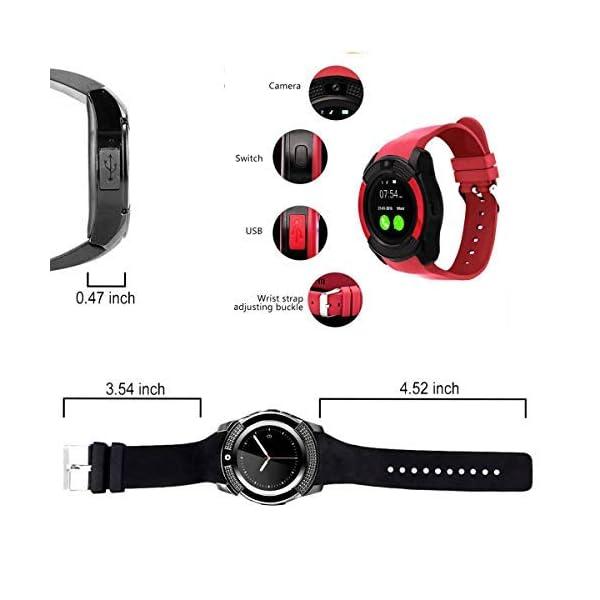 catshin SmartWatch ios android Wear con SIM Card Slot Cámara reloj Smart Watch podómetro Fitness Tracker Watch Pulsera… 6
