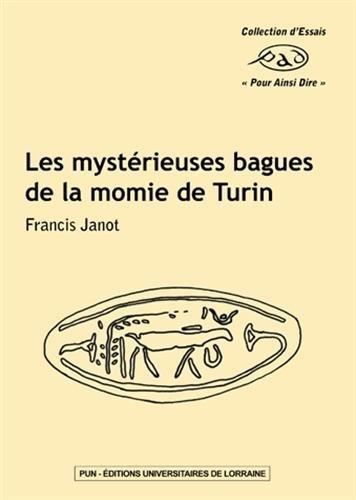 Les Mysterieuses Bagues de la Momie de Turin