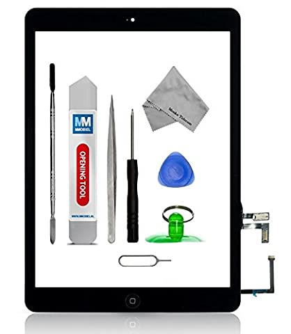 MMOBIEL Digitizer Display Glas für IPAD Air (Schwarz) Touchscreen Ersatzteil