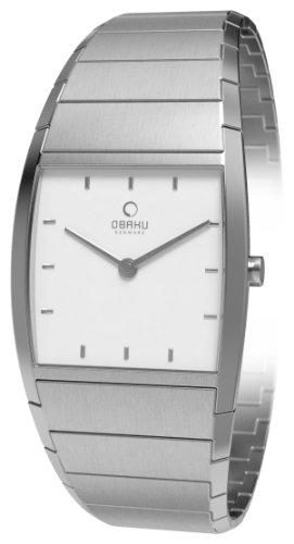 Obaku Harmony Damen-Armbanduhr Analog Edelstahl V142LCISC