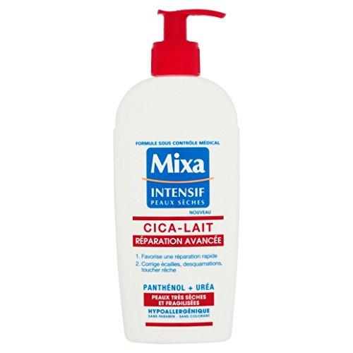 Mixa Intensif Peaux Sèches - Cica-Lait Réparation Avancée pour Peaux Très Sèches et Fragilisées - 250 ml