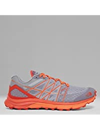 The North Face Zapatillas de running Ultra Vertical para hombre, Color: FOILGY/EXBRCORG, Talla: 40.5 EU (8 US / 7 UK)