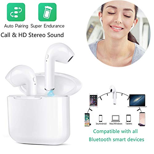 Auriculares Bluetooth 5.0 Auriculares Inalámbricos Mini Twins Sonido
